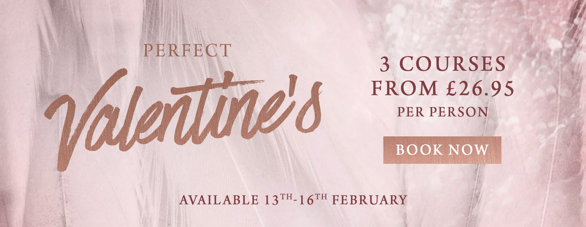 Valentines at The Swan